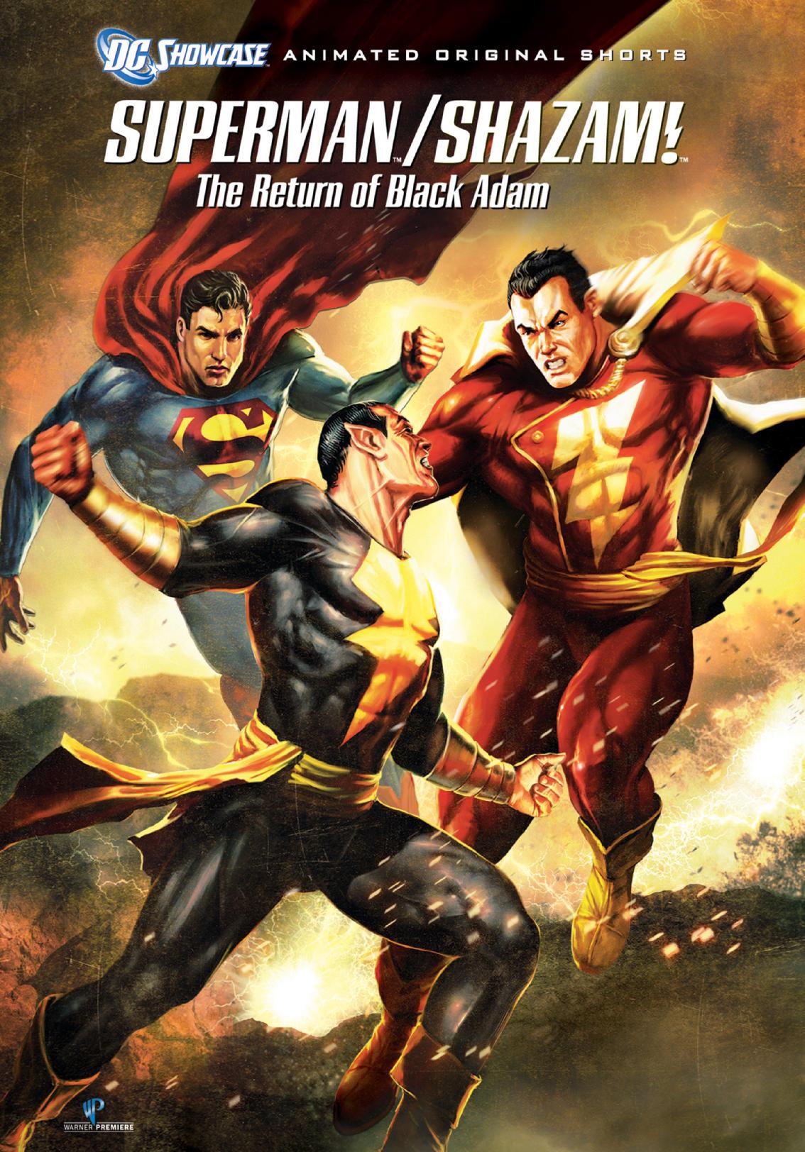 Superman / Shazam!: The Return of Black Adam (2010) | Kaleidescape